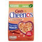 Nestlé Cheerios Oats Chrupiące płatki śniadaniowe z cynamonem 210 g