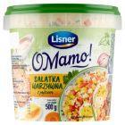 Lisner Jak u Mamy Sałatka warzywna z jajkiem 500 g