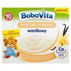 BoboVita Mleczny pudding waniliowy po 10 miesiącu 400 g (4 sztuki)