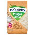 BoboVita Porcja Zbóż Kaszka mleczna 7 zbóż zbożowo-jęczmienna po 8 miesiącu 210 g