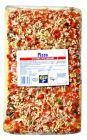 Pizza z szynką wieprzową i pieczarkami  1kg