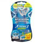 Wilkinson Sword Xtreme3 Ultimate Plus Jednorazowe maszynki do golenia 4 sztuki