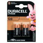 Duracell 123 Ultra Lithium Baterie litowe 2 sztuki