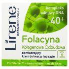 Lirene Folacyna 40+ Kolagenowa Odbudowa Odmładzający krem do twarzy i na szyję 50 ml