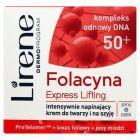 Lirene Folacyna 50+ Express Lifting Intensywnie napinający krem do twarzy i na szyję 50 ml