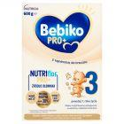 Bebiko Pro+ 3 Mleko modyfikowane dla dzieci powyżej 1. roku życia 600 g