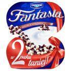 Danone Fantasia Jogurt kremowy z kulkami w czekoladzie 200 g (2 sztuki)