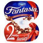 Danone Fantasia Jogurt kremowy z płatkami w czekoladzie 210 g (2 sztuki)