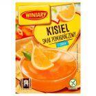 Winiary Kisiel z cukrem pomarańczowy smak 77 g