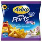 Aviko Pati Parts Garlic Cząstki ziemniaka o smaku czosnkowym 600 g