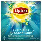 Lipton Surprising Russian Grey Herbata czarna aromatyzowana 34 g (20 torebek)