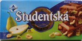 Czekolada Studencka mleczna z gruszkami
