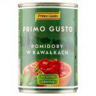Primo Gusto Pomidory w kawałkach bez skórki z bazylią 400 g