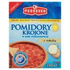 Podravka Pomidory krojone w soku pomidorowym z cebulką 390 g