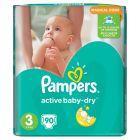 Pampers Active Baby-Dry rozmiar 3 (Midi), 90 pieluszek