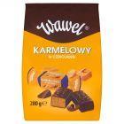 Wawel Karmelowy Cukierki z czekoladą mleczną i alkoholem 280 g