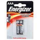 Energizer Alkaline Power AAA-LR03 1,5V Baterie alkaliczne 2 sztuki