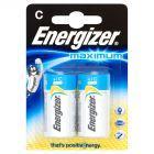 Energizer Maximum C-LR14 1,5V Baterie alkaliczne 2 sztuki
