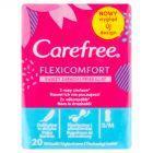 Carefree FlexiComfort with Fresh scent Wkładki higieniczne 20 sztuk