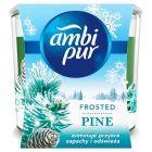 Ambi Pur Frosted Pine Świeca zapachowa usuwająca zapachy 100g