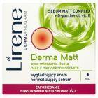 Lirene Derma Matt Wygładzający krem normalizujący sebum na noc 50 ml