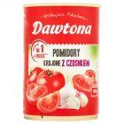 Dawtona Pomidory krojone z czosnkiem 400 g