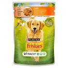 Friskies Vitafit Adult Karma dla psów z kurczakiem i marchewką w sosie 100 g