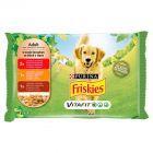 Friskies Vitafit Adult Pełnoporcjowa karma dla dorosłych psów 4 x 100 g