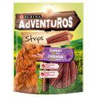 Purina Adventuros Strips o smaku sarniny Uzupełniająca karma dla dorosłych psów 90 g