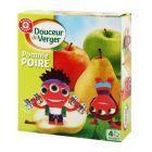 Deser jabłkowo - gruszkowy o obniżonej zawartości tłuszczu 4x90g