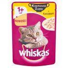 Whiskas Kremowa Zupa z Kurczakiem Karma pełnoporcjowa 1+ lat 85 g