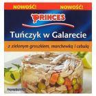 Princes Tuńczyk w galarecie z zielonym groszkiem marchewką i cebulą 175 g