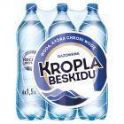 Kropla Beskidu Naturalna woda mineralna gazowana 6 x 1,5 l