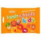 Wawel Fresh & Fruity Kids Galaretki z nadzieniem 160 g