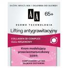 AA Dermo Technologia 65+ Lifting antygrawitacyjny Krem modelujący przeciwzmarszczkowy na dzień 50 ml