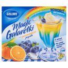 Gellwe Magic Galaretki smak pomarańcza jagoda 75 g