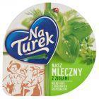 NaTurek Nasz Mleczny z ziołami Serek twarogowy 140 g