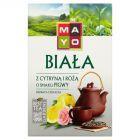 Mayo Biała z cytryną i różą o smaku pigwy Herbata liściasta 50 g