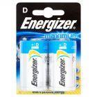 Energizer Maximum D-LR20 1,5V Baterie alkaliczne 2 sztuki