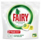 Fairy Original All In One Lemon Tabletki do zmywarki 24 sztuki
