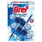Bref WC Blue Aktiv Chlorine Zawieszka do muszli WC 2 x 50 g