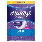 Always Dailies Extra Protect Large Fresh Wkładki higieniczne x 46