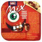 Müller Mix Jogurt o smaku waniliowym z mieszanką kółeczek zbożowych w polewie z czekolady 130 g