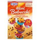 Dr. Oetker Mini Babeczki smak waniliowy z kropelkami czekolady 250 g