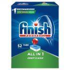 Finish All in 1 Tabletki do zmywarki 847,6 g (52 sztuki)