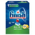 Finish All in 1 Lemon Tabletki do zmywarki 847,6 g (52 sztuki)