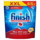 Finish All in 1 Max Lemon Tabletki do zmywarki 1059,5 g (65 sztuk)