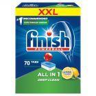 Finish All in 1 Lemon Tabletki do zmywarki 1120 g (70 sztuk)