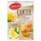 Delecta Cukier smak cytrynowy 15 g