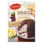 Delecta Bananata z czekoladą Ciasto w proszku 360 g